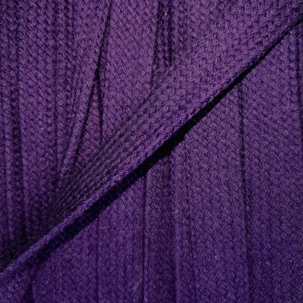 Flachkordel 17mm violett (44)