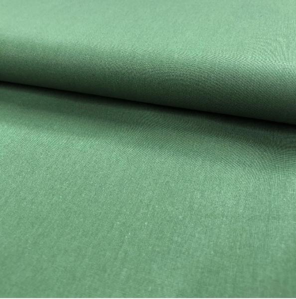 Uni-Baumwollstoff tannengrün