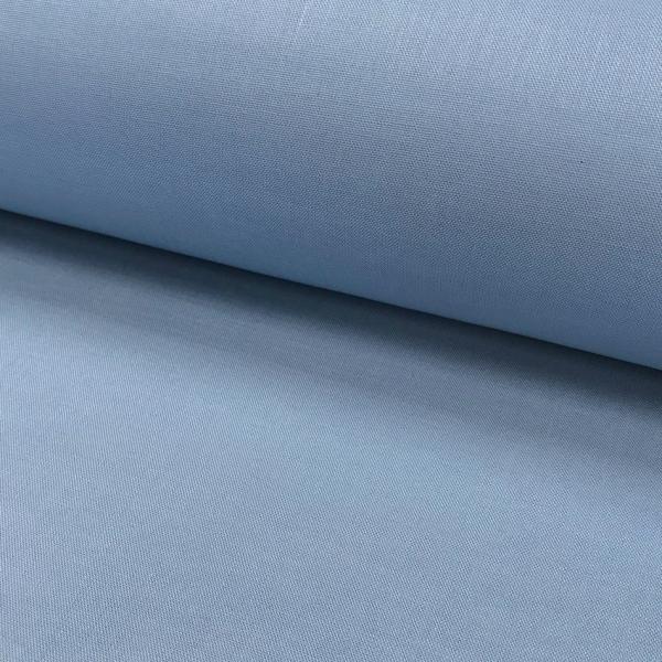 Uni-Baumwollstoff grau-blau gräuliches blau