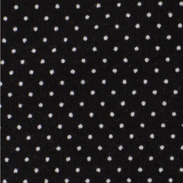 Jersey Minipunkte schwarz
