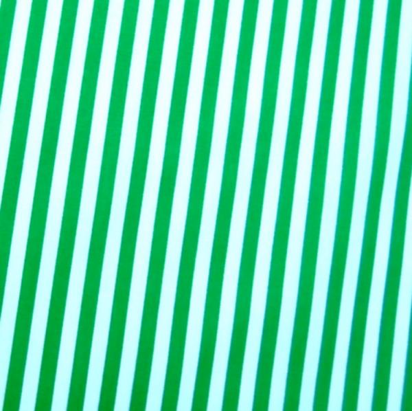 Baumwollwebware, Streifen dunkelgrün-weiß