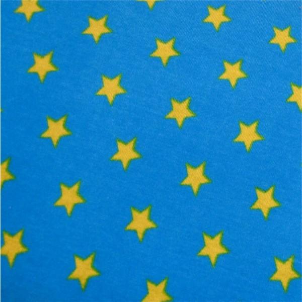 Jersey Sterne türkis-hellgrün