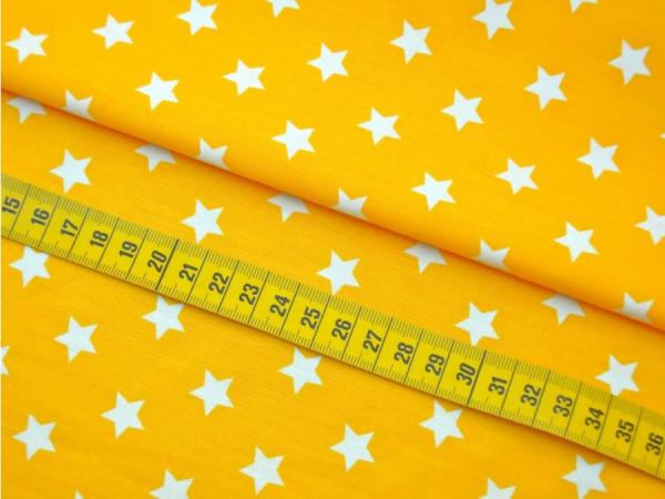 2 Größen Sterne: gelb-weiß