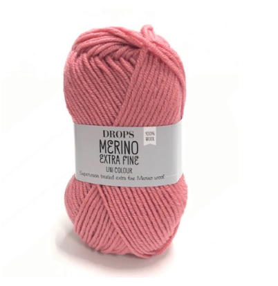 Merino Extra Fine (33) rose uni