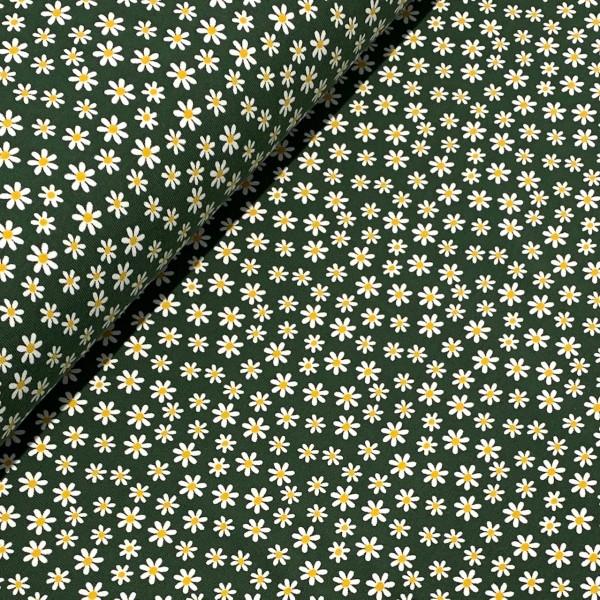 Jersey Gänseblümchen dunkelgrün