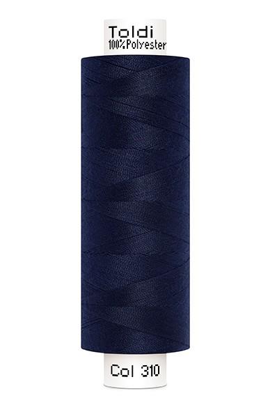 Toldi Nähgarn marineblau (310), 500m