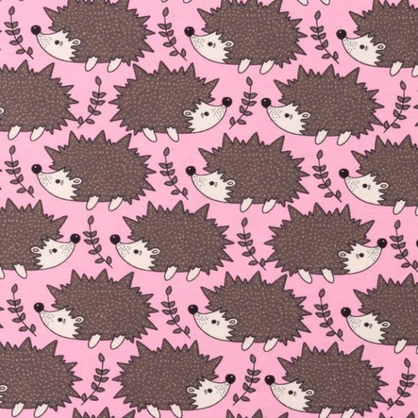 Jersey kleiner Igel rosa-braun