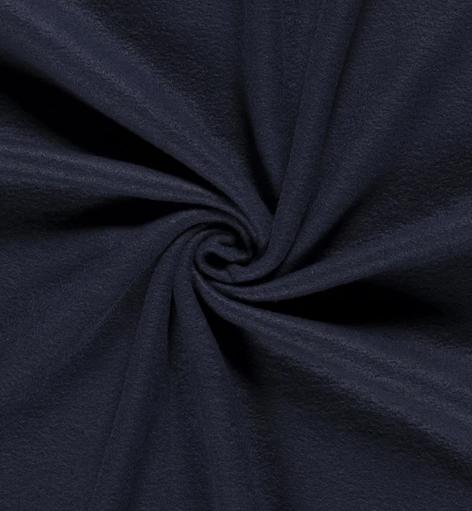 Polar Fleece uni dunkelblau 100% PL