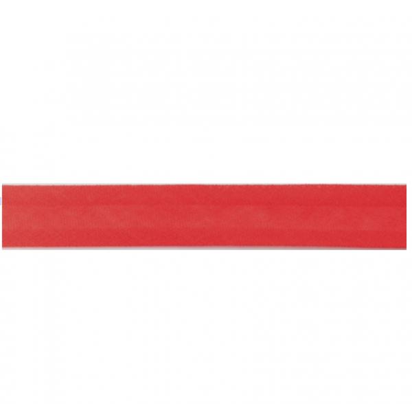 5 m Schrägband 100 % Baumwolle 20mm rot