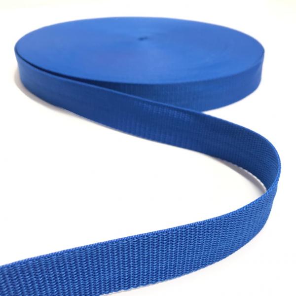 Gurtband Polypropylen royalblau, 30mm breit