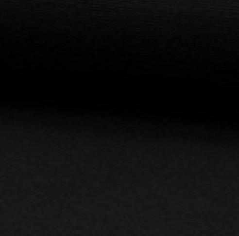 Bündchen-Schlauch schwarz