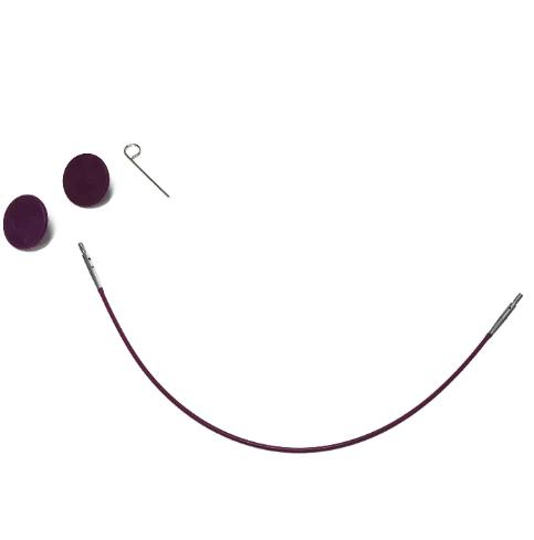 KnitPro Nadelseil 40cm für austauschbare Rundstricknadelspitzen
