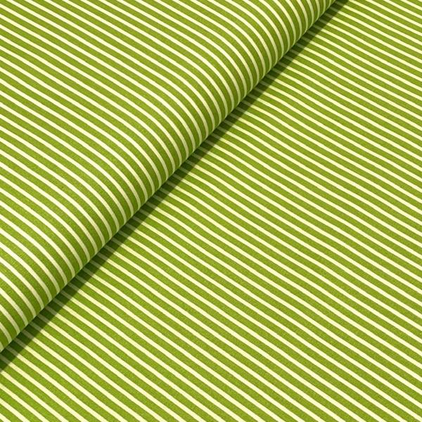 Mini-Streifen hellgrün 3mm 100%BW