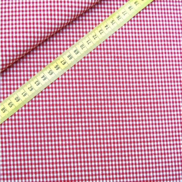 Vichy-Karo rot 2 Größen