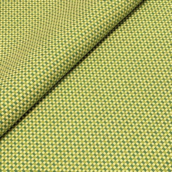 Candy Canvas Karo grün
