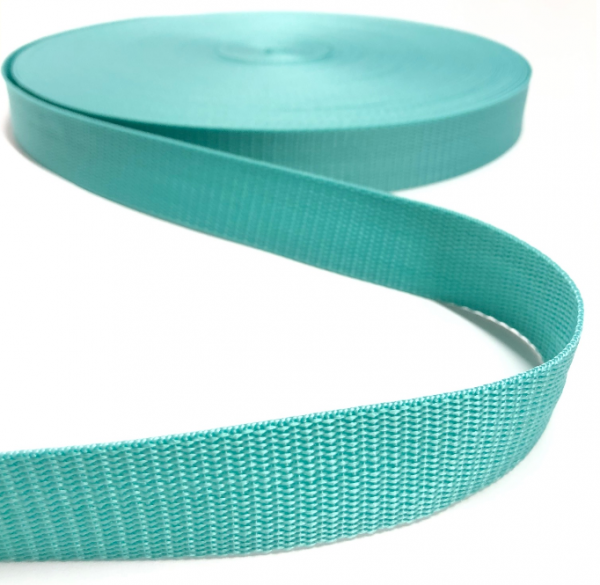Gurtband Polypropylen mint, 30mm breit
