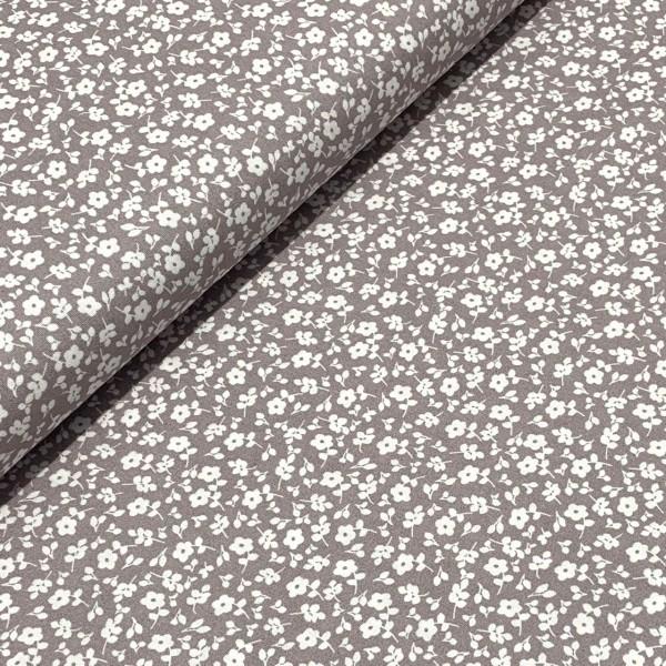 Streublumen grau-weiß 100%BW