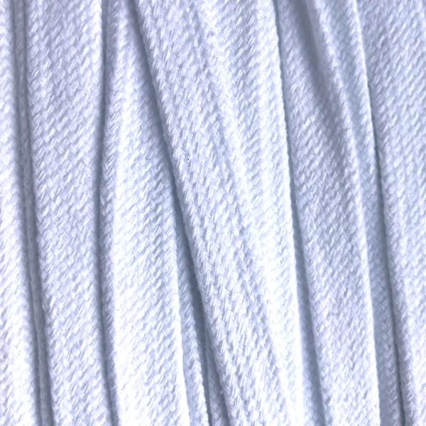 Flachkordel 17mm weiß (45)