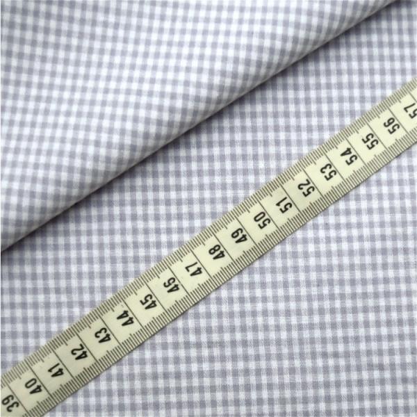 Vichy-Karo grau 2 Größen