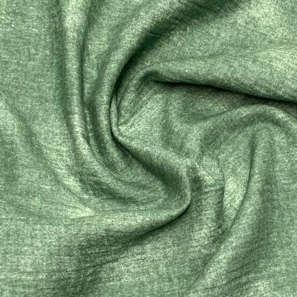Musselin used look grün