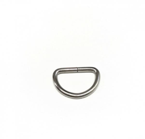 D-ring 25mm, silbern