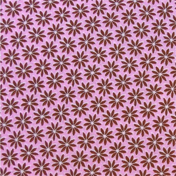 Blütenzauber rosa-braun 11/58