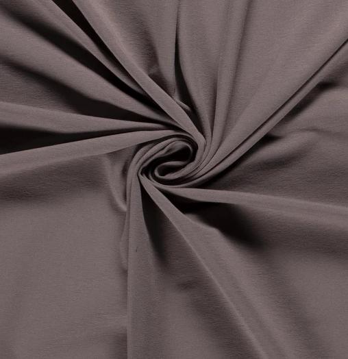 French Terry Uni taupe 250 g/m2 1,5m breit ÖkoTex 100