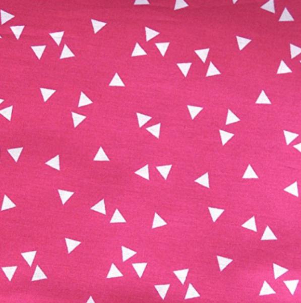 Triangle, Dreiecke pink