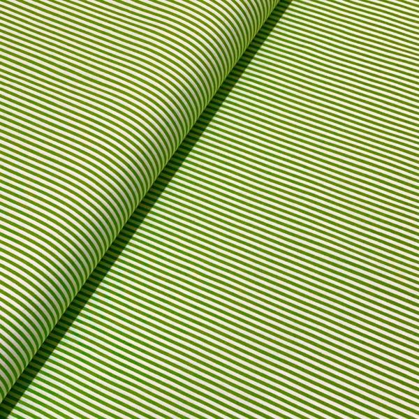 Mini-Ringel hellgrün-weiß 100%BW