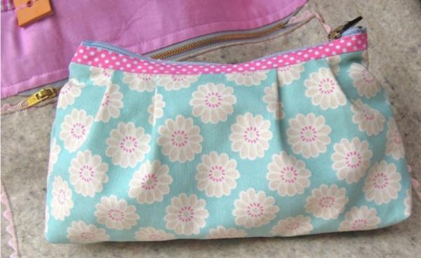 Taschen-Tasche Daisy Schnitt und Anleitung