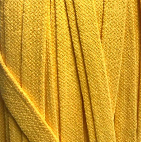 Flachkordel 17mm gelb (42)
