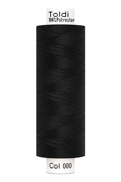 Toldi-Nähgarn, 500m, schwarz (000)