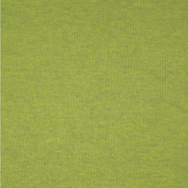 Bündchen uni dunkel-melange hellgrün 1023