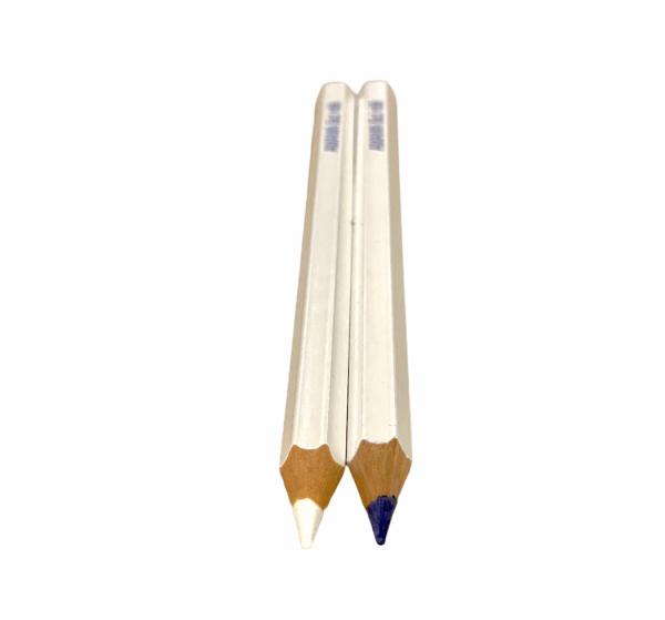Schneiderkreide-Stifte weiß/blau 2 Stück
