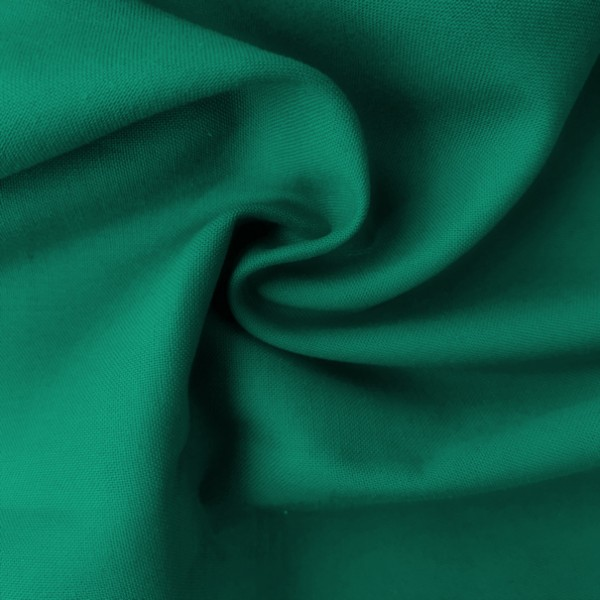 Uni-Baumwollstoff dunkelgrün