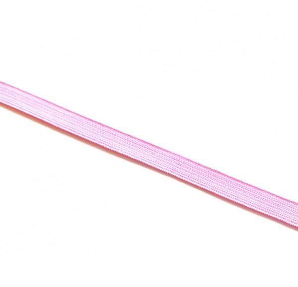 Gummiband 1 cm rosa 2m