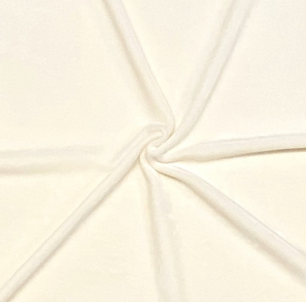 Microfaser-Nicki cremeweiß