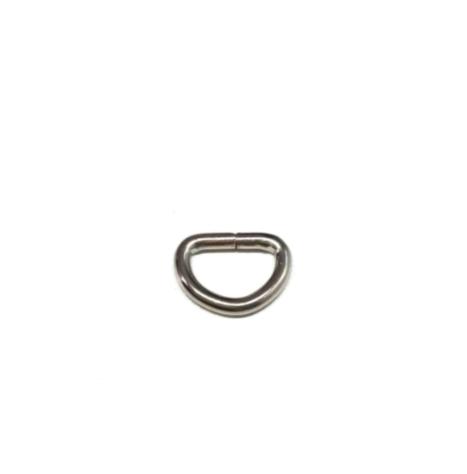 D-Ring 15mm, silber