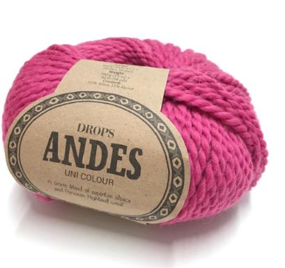Andes (3755) cerise uni