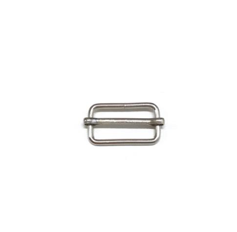 Leiterschnalle 25mm, silbern
