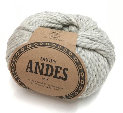Andes (9020) hellgrau mix