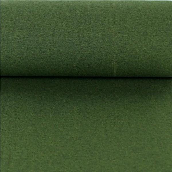 Bündchen uni dunkel-melange dunkelgrün 1027