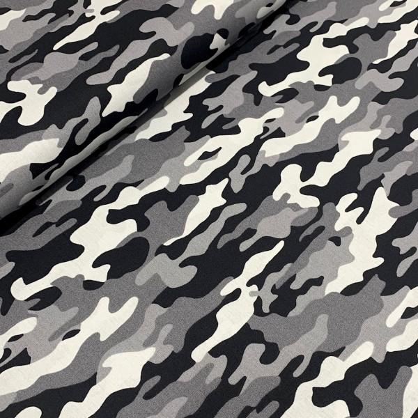 Camouflage grau 100%BW