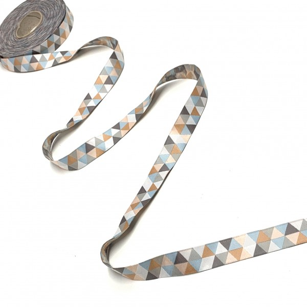 Webband Triangel pastell, ca. 20mm breit