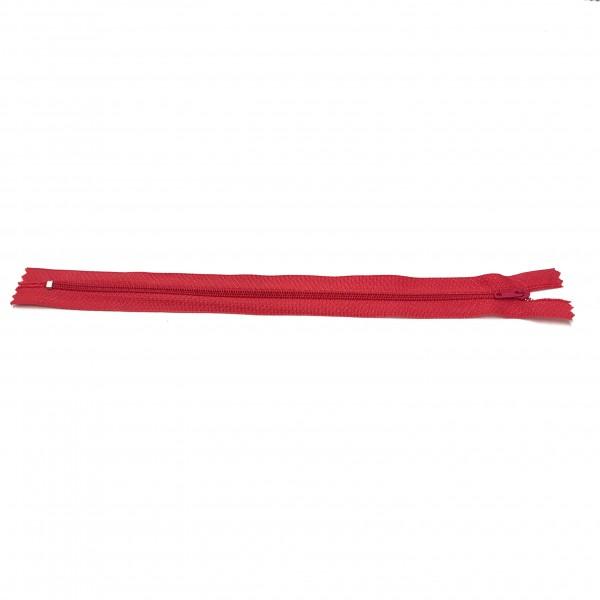Reißverschluss, ca.25cm, rot