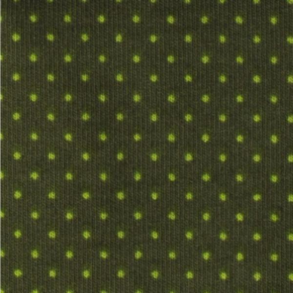 Jersey Minipunkte moosgrün
