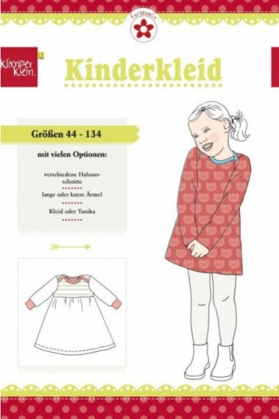 """Papierschnittmuster """"Kinderkleid"""" von Klimperklein"""