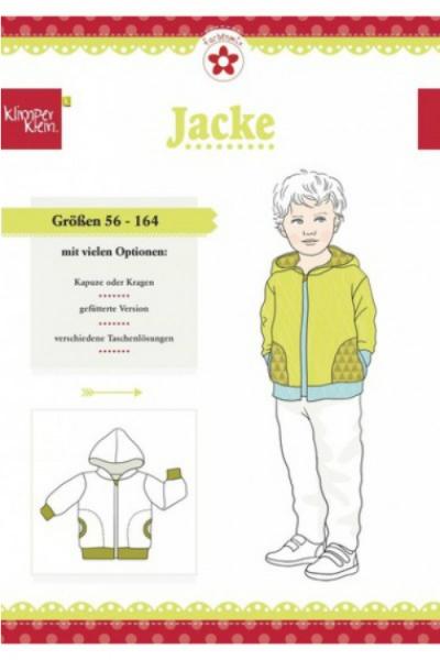 """Papierschnittmuster """"Jacke"""" von Klimperklein"""