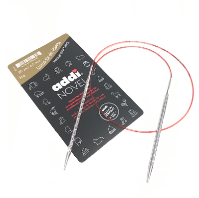 addiNovel Rundstricknadeln 4,50mm mit 80cm Seil