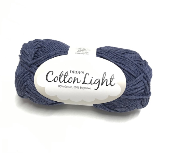 Cotton Light (26) jeansblau